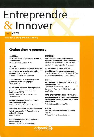 Revue Entreprendre_Innover
